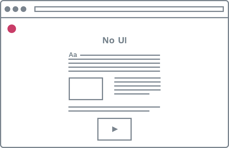 No UI icon
